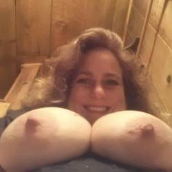 Very large tits of my wife - Tig Bitty Beth