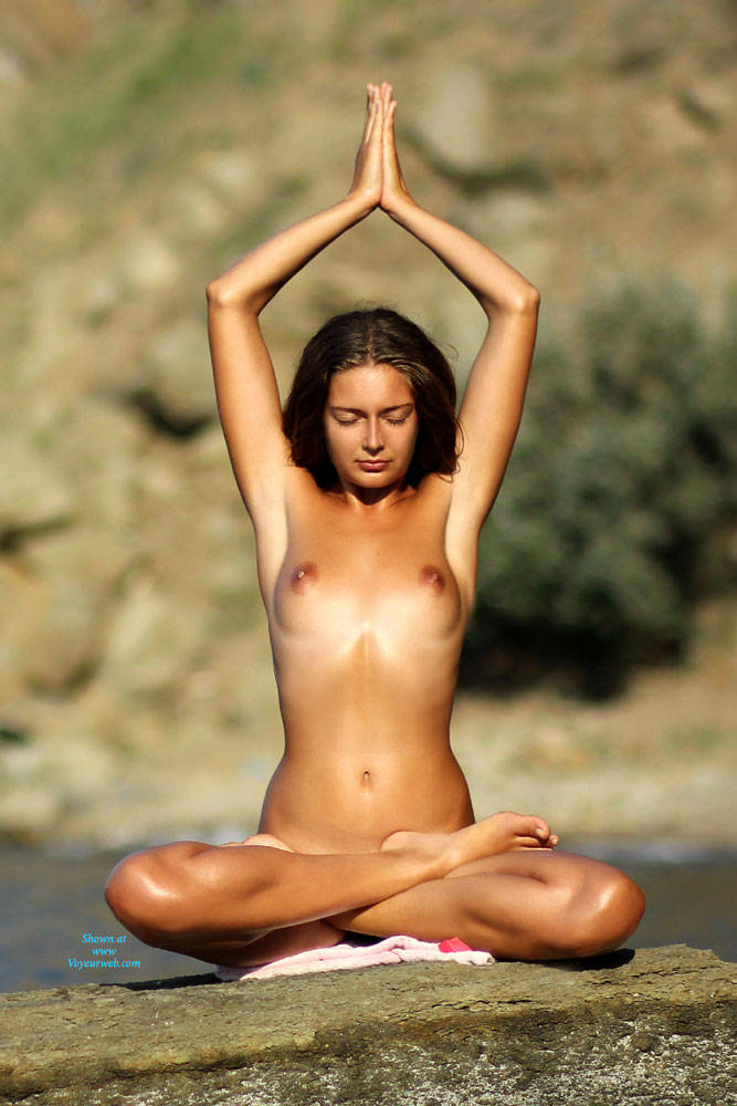 Pic #1 Yoga With Carmen - Beach, Brunette