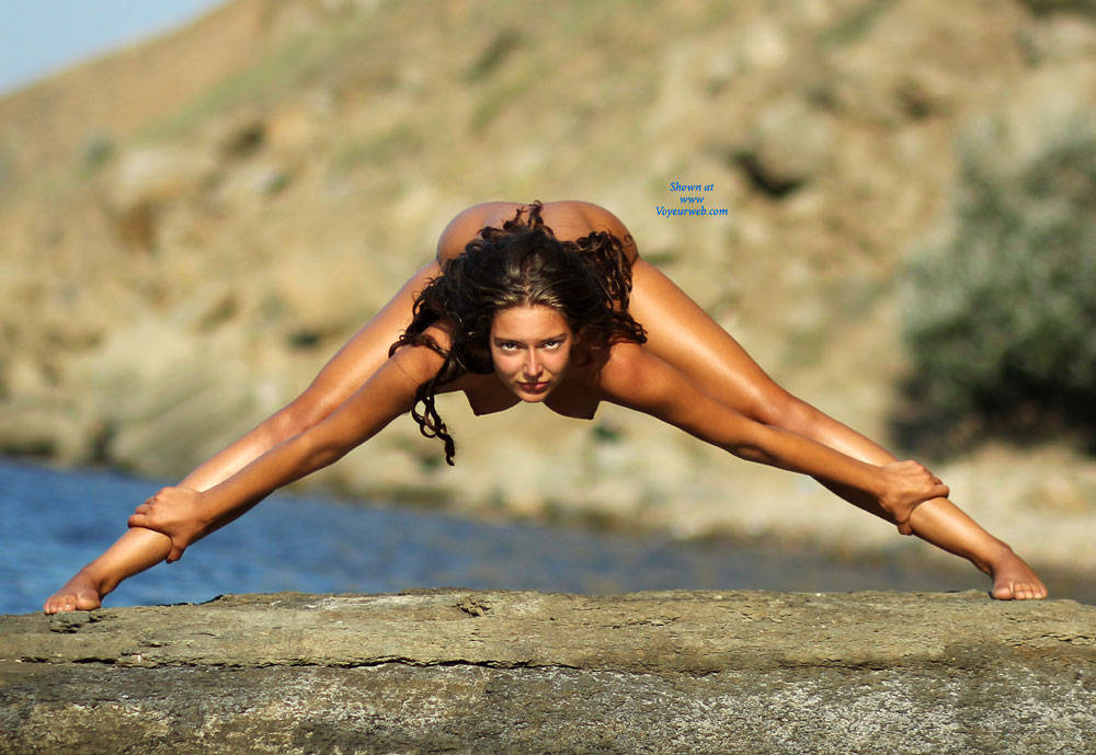 Pic #5 Yoga With Carmen - Beach, Brunette