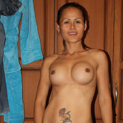 I Love To Feel Naked - Big Tits, Brunette, Tattoos, Asian