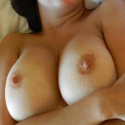 Large tits of my wife - Mrs. A