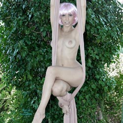 Outdoor Aerial Skills - Blonde Hair, Exhibitionist, Exposed In Public, Firm Tits, Full Nude, Naked Outdoors, Nude In Nature, Short Hair, Showing Tits, Hot Girl, Naked Girl, Sexy Body, Sexy Face, Sexy Feet, Sexy Figure, Sexy Girl, Sexy Legs, Young Woman