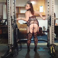 Hanging In His Man Cave - Lingerie
