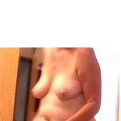 Medium tits of my wife - mommy