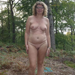 I Love To Walk Nude In The Wood - Big Tits, Nature, Wife/Wives
