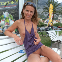 Summer Memories - Flashing, Public Exhibitionist, Public Place, Shaved