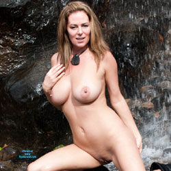 Waterfall - Big Tits, Nature, Shaved