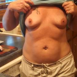 Medium tits of my wife - Sweety