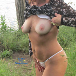 Tanline Teri - Big Tits