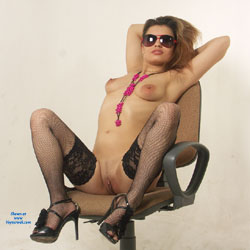 On The Throne))))))) - Big Tits, Heels, Sexy Lingerie