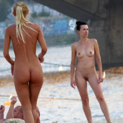 Naked Sport - 2 - Shaved, Beach Voyeur