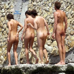 Nude Europe - Shaved, Beach Voyeur