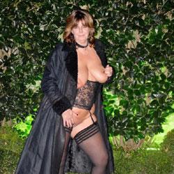 Fun Outside - Big Tits, Lingerie