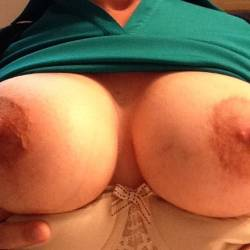 Very large tits of my wife - Mystery