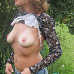 Tawny Airs Out Her Tanlines - Big Tits, Nature