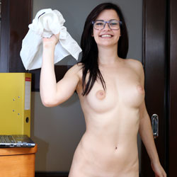 Finally! Lily! - Big Tits, Brunette Hair, Shaved, Young Woman