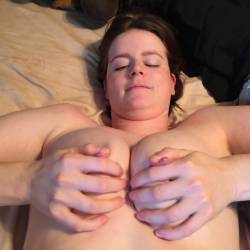 Large tits of my wife - Jessica