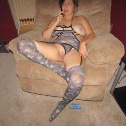 Halloween Naked For A gangbang - Big Tits