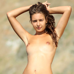 Wet And Teasing Young Lady - Brunette Hair, Erect Nipples, Exposed In Public, Firm Tits, Full Nude, Hard Nipple, Naked Outdoors, Nude In Public, Shaved Pussy, Showing Tits, Small Breasts, Small Tits, Wet, Beach Voyeur, Hot Girl, Sexy Ass, Sexy Body, Sexy Face, Sexy Figure, Sexy Girl, Sexy Legs, Sexy Woman, Young Woman