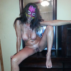 Milf Behind The Mask - Big Tits