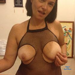 Iva In Black - Big Tits, Brunette