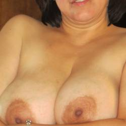 Large tits of my wife - Cherry