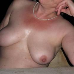 Medium tits of my wife - Ann:-)