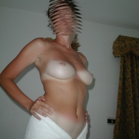 Medium tits of my wife - Moje
