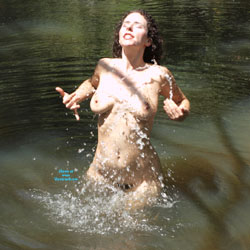 Having Fun In The River - Big Tits, Brunette Hair, Exposed In Public, Full Nude, Hairy Bush, Hairy Pussy, Hanging Tits, Huge Tits, Naked Outdoors, Nude In Nature, Nude In Public, Perfect Tits, Showing Tits, Water, Wet, Hot Girl, Naked Girl, Sexy Body, Sexy Boobs, Sexy Face, Sexy Figure, Sexy Girl