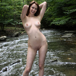 Standing Naked At The River - Big Tits, Brunette Hair, Erect Nipples, Exposed In Public, Firm Tits, Full Nude, Naked Outdoors, Nipples, Nude In Nature, Nude In Public, Perfect Tits, Showing Tits, Trimmed Pussy, Hot Girl, Sexy Body, Sexy Boobs, Sexy Feet, Sexy Figure, Sexy Girl, Sexy Legs, Young Woman