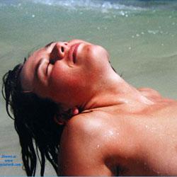 On The Beach - Beach, Brunette