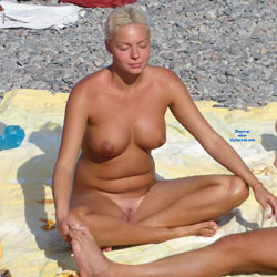 Blonde Girls Beach Meditation - Big Tits, Blonde Hair, Exposed In Public, Full Nude, Huge Tits, Naked Outdoors, Nipples, Nude Beach, Nude In Public, Shaved Pussy, Showing Tits, Beach Pussy, Beach Tits, Beach Voyeur, Hairless Pussy, Naked Girl, Sexy Body, Sexy Boobs, Sexy Figure, Sexy Girl, Sexy Legs, Sexy Woman