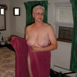 Large tits of my wife - Jeanne