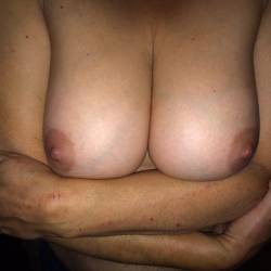 Large tits of my wife - Nikki