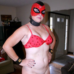 Masked For The Holidays! - High Heels Amateurs