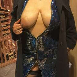 Very large tits of my wife - Cherry