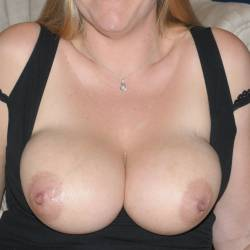 Large tits of a co-worker - CumLover