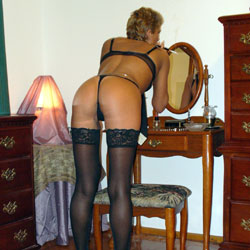 Just Doing A Little Showing Off - Lingerie