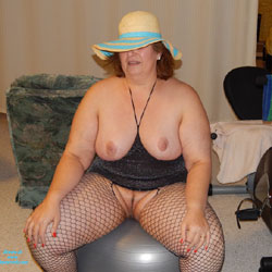 More Pictures From My Party Basement - Big Tits, Lingerie