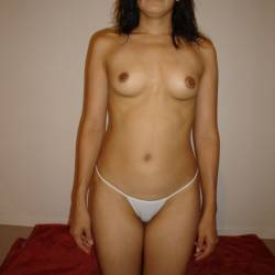 Small tits of my girlfriend - Carla