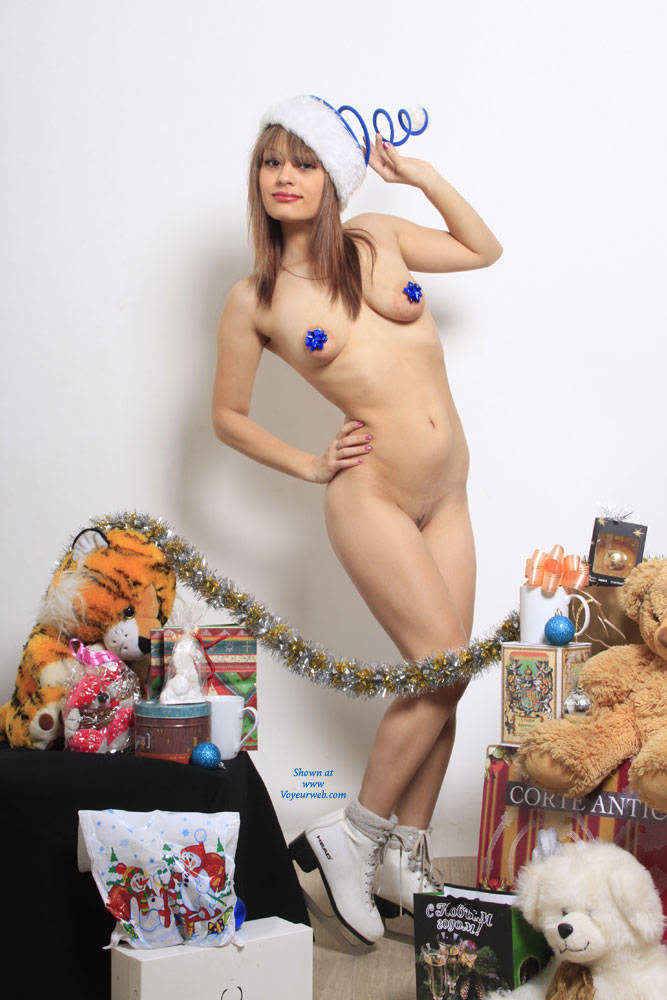 Pic #1 - I Give Not A Lot Of Holiday)))))) , I Pictured As Miss Santa And A Gift. I Want To Please You As Miss Santa And Give Myself As A Christmas Gift)))!!!!! And I Tried To Express It In Pictures!!!!! I Hope You And Give Me A Gift, Leaving The Best Ratings And Comments:* I Kiss You And Hug !!!!