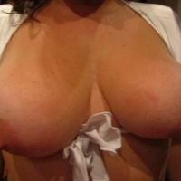 Large tits of my wife - Lucie