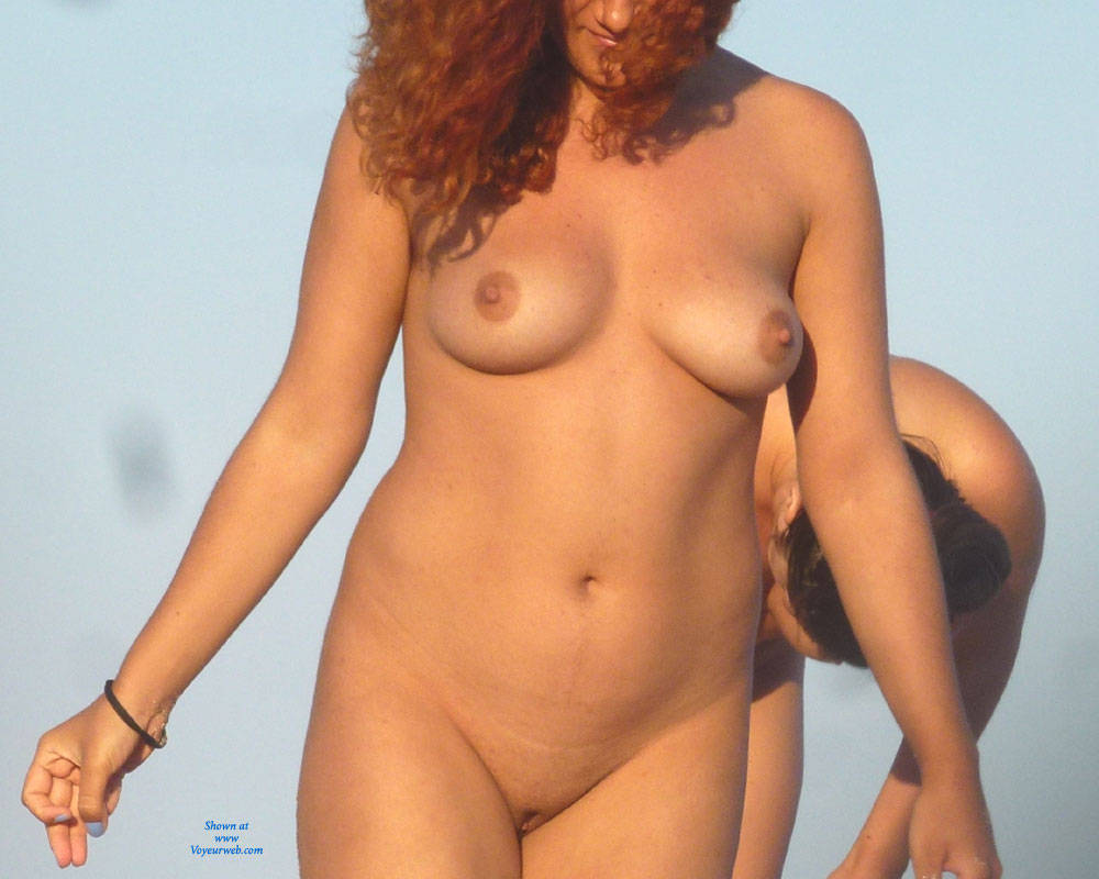 Big shapely naked mature