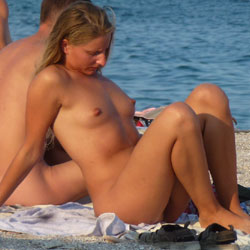 Teasing Blonde At The Beach - Big Tits, Blonde Hair, Erect Nipples, Exposed In Public, Firm Tits, Full Nude, Hard Nipple, Naked Outdoors, Nipples, Nude Beach, Nude In Nature, Nude In Public, Perfect Tits, Round Ass, Showing Tits, Beach Tits, Beach Voyeur, Hot Girl, Sexy Ass, Sexy Body, Sexy Boobs, Sexy Figure, Sexy Girl, Sexy Legs, Young Woman