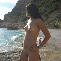 Beach Day With Luciax - Beach, Brunette