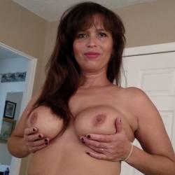 My large tits - backyard girl