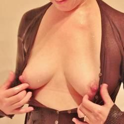 Medium tits of my wife - 4U2C2
