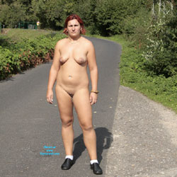 I Like To Walk Naked - Big Tits, Redhead