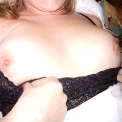 Large tits of my wife - catherine