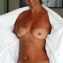 Small tits of my wife - Anne